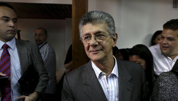 Henry Ramos Allup, jefe del partido opositor  AD - Sputnik Mundo