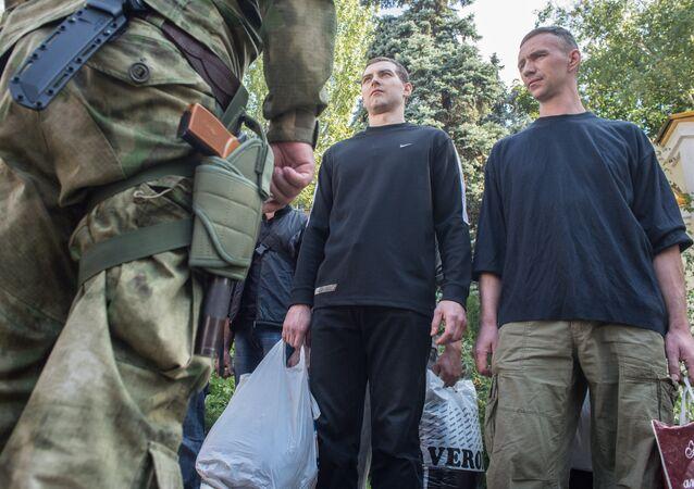 Prisioneros ucranianos (archivo)