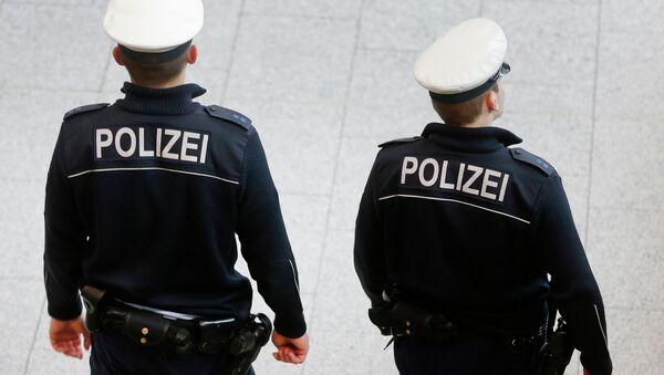 Los policías de Alemania - Sputnik Mundo