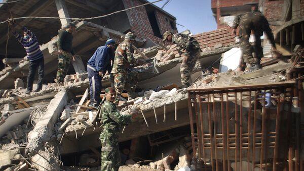 El terremoto en la India - Sputnik Mundo