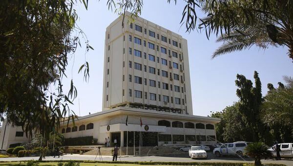 Ministerio de Exteriores de Sudán - Sputnik Mundo