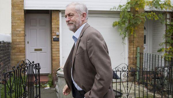 Jeremy Corbyn, líder del Partido Laborista del Reino Unido (archivo) - Sputnik Mundo