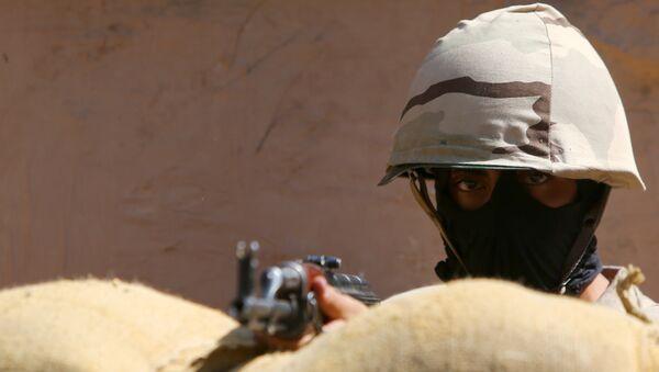 Soldado egipcio - Sputnik Mundo