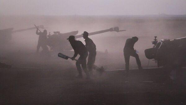 Militares sirios (archivo) - Sputnik Mundo