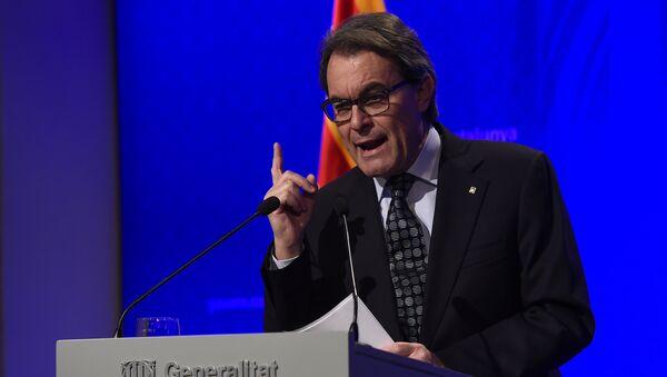 Artur Mas, presidente en funciones del Gobierno catalán - Sputnik Mundo