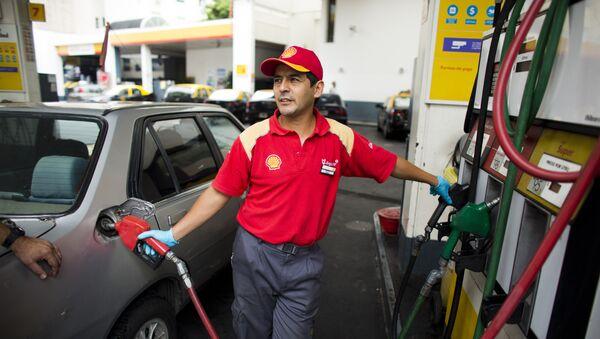 Gasolinera en Argentina - Sputnik Mundo