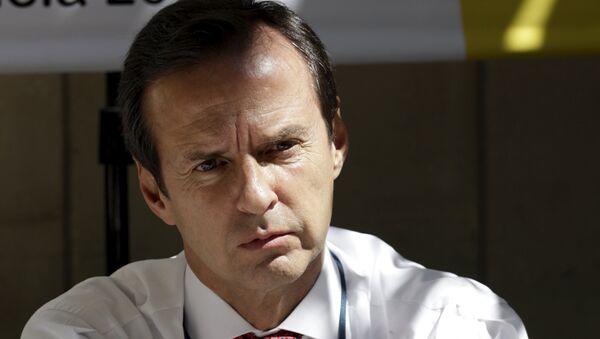 Bolivia's former President Jorge Quiroga attends a news conference in Caracas - Sputnik Mundo