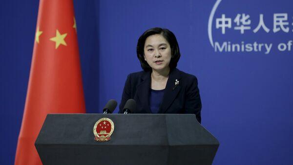 Hua Chunying, spokeswoman of China's Foreign Ministry - Sputnik Mundo