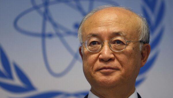 Yukiya Amano, el director general del OEIA - Sputnik Mundo