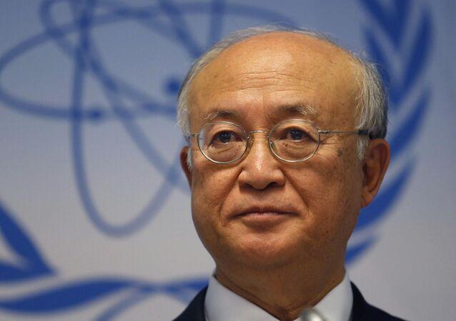 Yukiya Amano, el director general del OEIA