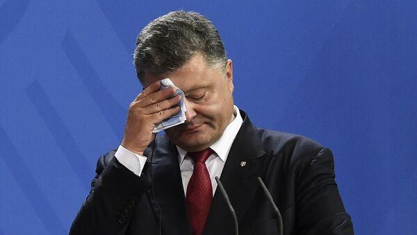 Petró Poroshenko, el presidente ucraniano - Sputnik Mundo
