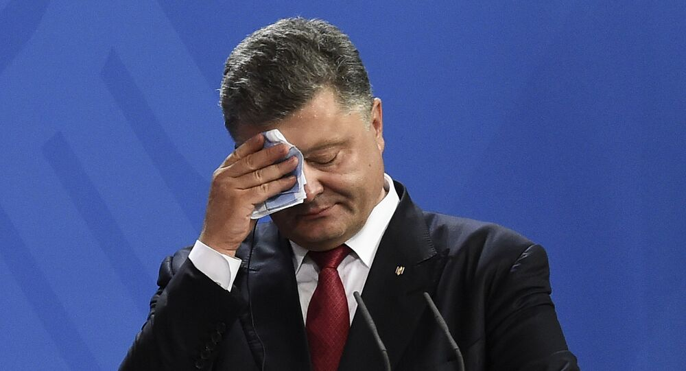 El presidente ucraniano Piotr Poroshenko