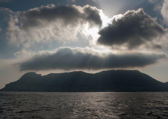 El estrecho de Gibraltar (archivo)