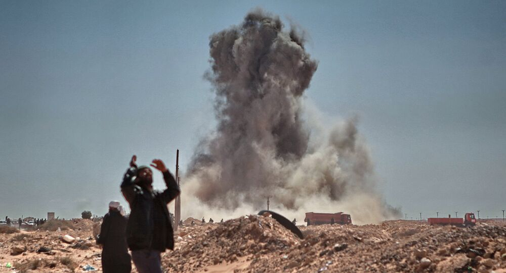 Situación en Libia (archivo)