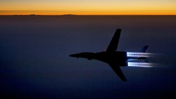 Las Fuerzas Aéreas de EEUU en Siria - Sputnik Mundo