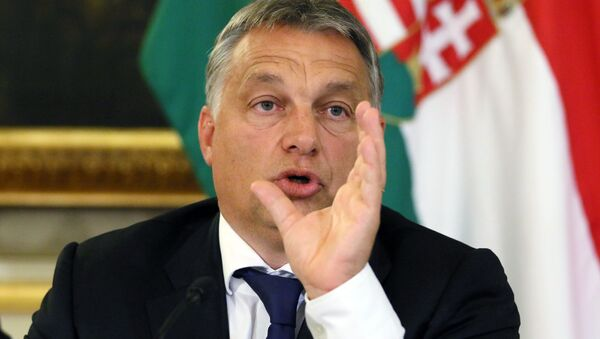 Viktor Orbán, primer ministro de Hungría - Sputnik Mundo