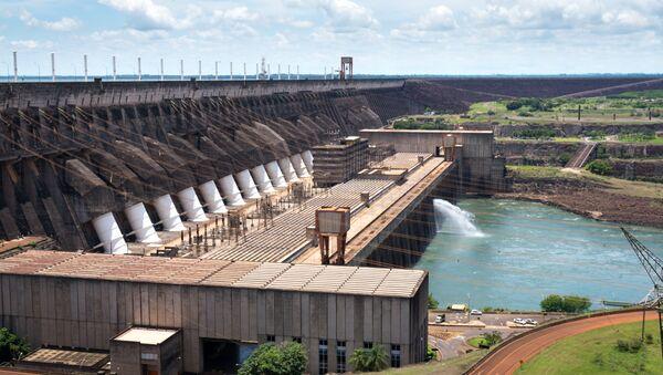 Hidroeléctrica brasileña de Itaipú - Sputnik Mundo