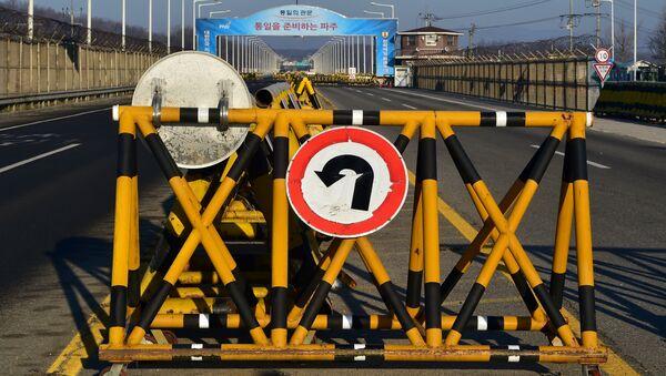 Frontera entre dos Coreas - Sputnik Mundo