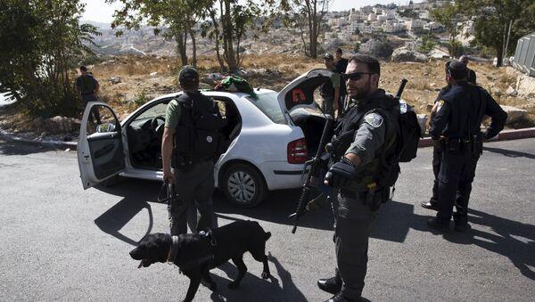 Policías israelíes (Archivo) - Sputnik Mundo