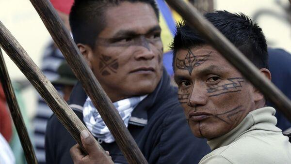 Indígenas de Ecuador (archivo) - Sputnik Mundo