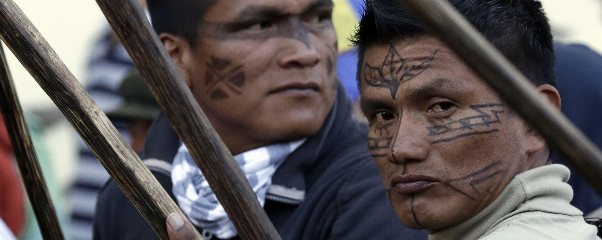 Indígenas de Ecuador (archivo) - Sputnik Mundo, 1920, 06.10.2020