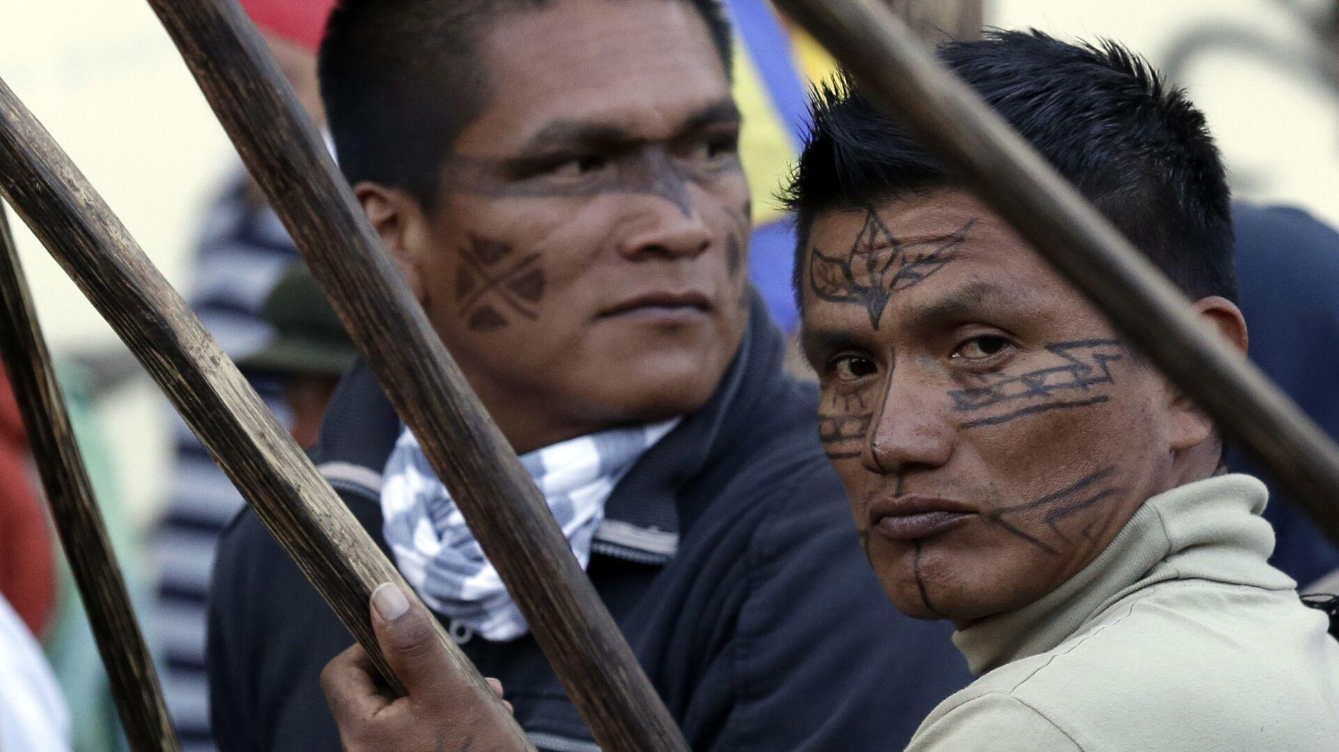 Indígenas de Ecuador (archivo) - Sputnik Mundo, 1920, 03.08.2021