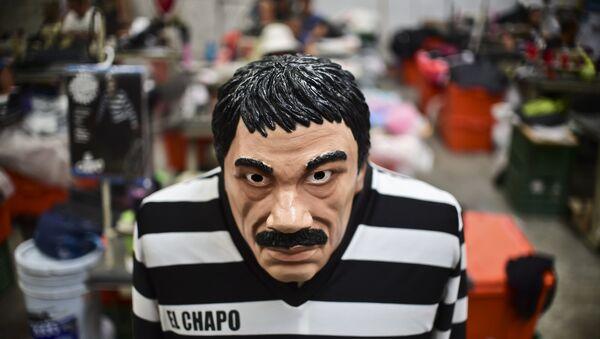 El 'Chapo' Guzmán, el traficante que humilló al Gobierno de México - Sputnik Mundo