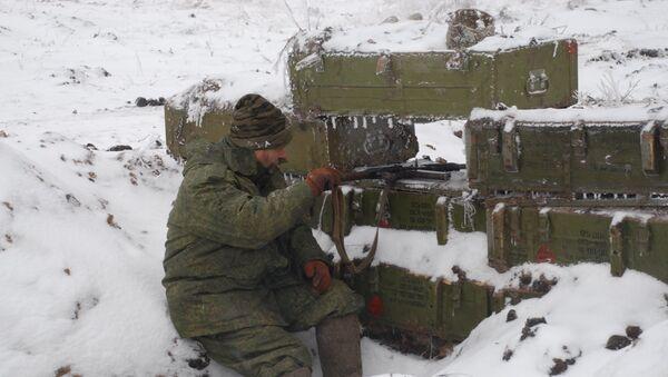 Miliciano de Donbás - Sputnik Mundo