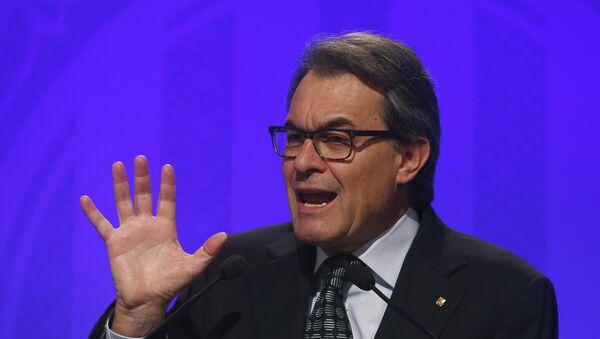 El expresidente del Gobierno auntonómico catalán, Artur Mas - Sputnik Mundo