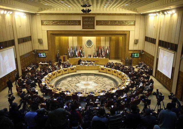 Reunión de los primeros ministros de los paises de la Liga Árabe (archivo)