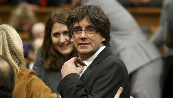 Carles Puigdemont, expresidente del Gobierno de Cataluña - Sputnik Mundo