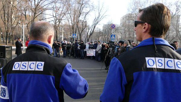 Митинг под лозунгом Услышьте голос Донбасса в Донецке - Sputnik Mundo
