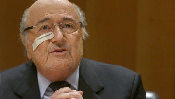 Expresidente de la FIFA, Joseph Blatter - Sputnik Mundo