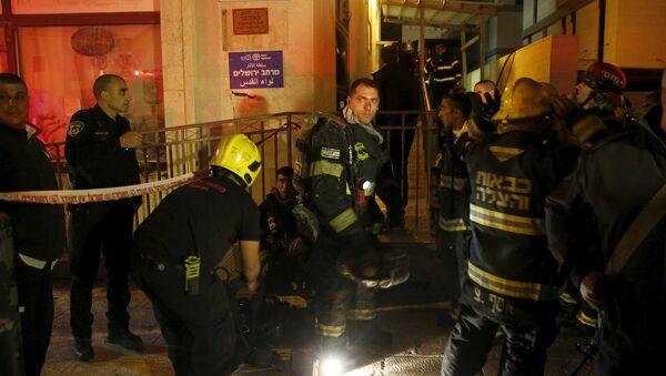 Incendio en el edificio que alberga las oficinas de la ONG B'Tselem - Sputnik Mundo