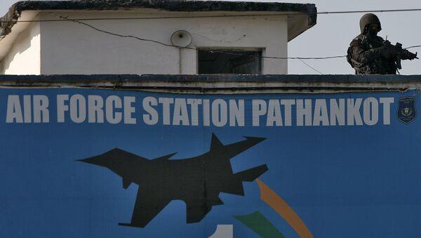 La base militar india Pathankot - Sputnik Mundo