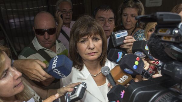 Argentine deputy Patricia Bullrich, president of the Penal Legislation Committee - Sputnik Mundo
