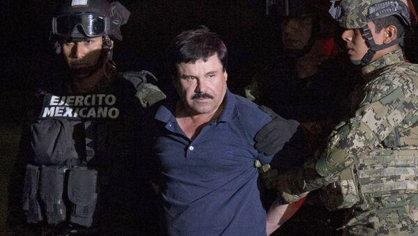 Joaquín Guzmán Loera, alias el 'Chapo', el narcotraficente mexicano - Sputnik Mundo