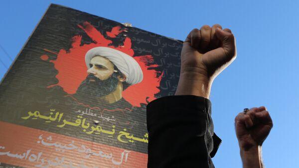 Protestas en Irán por la ejecución del misionero chií Nimr Baqir al Nimr en Arabia Saudí - Sputnik Mundo