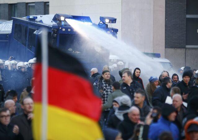 Protestas en Colonia