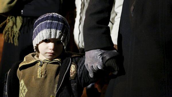 Niño sirio - Sputnik Mundo