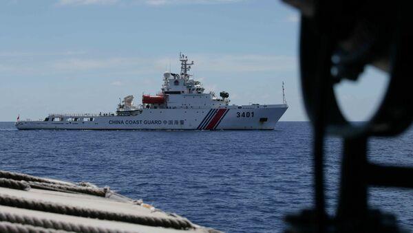 Lancha patrullera Coast Guard (archivo) - Sputnik Mundo