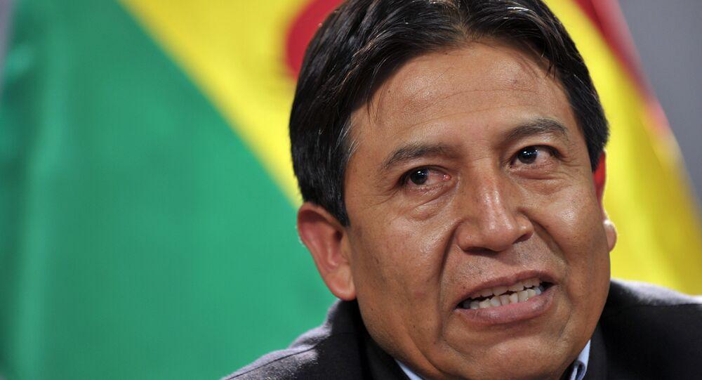 David Choquehuanca, candidato a vicepresidente de Bolivia