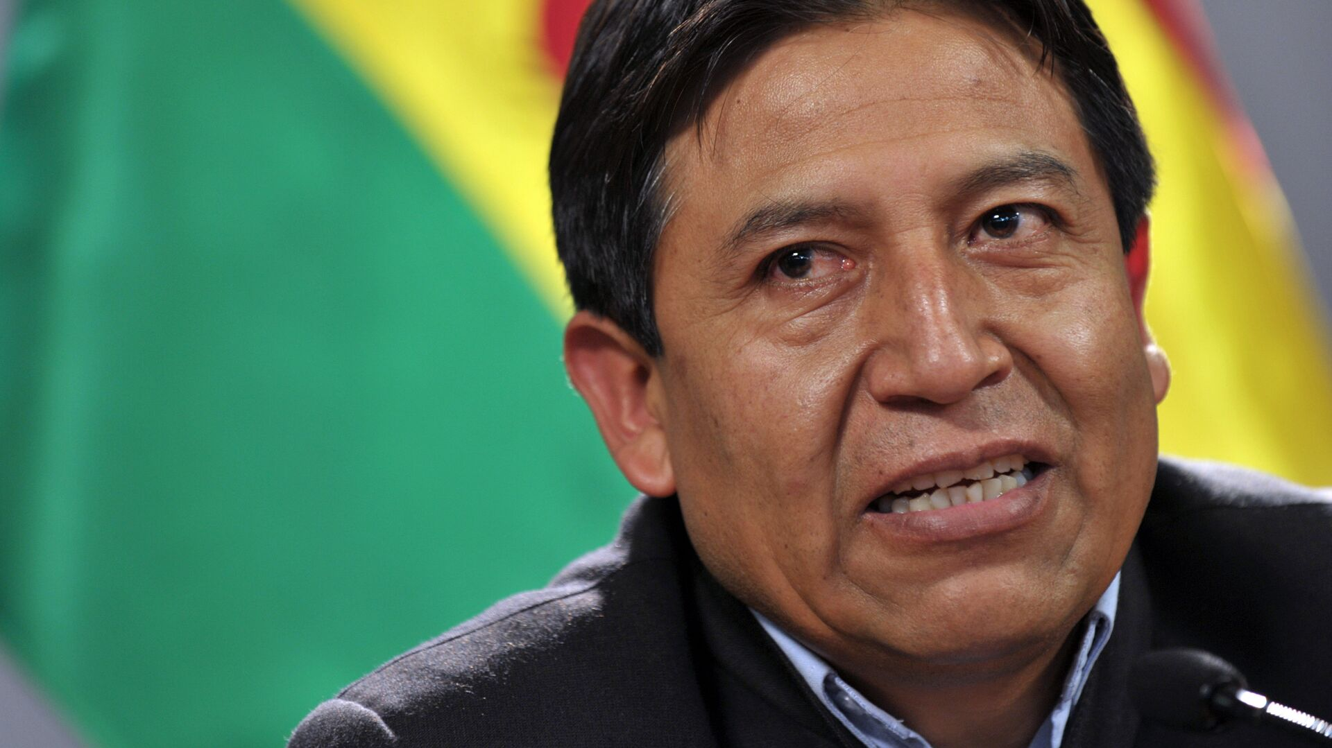Bolivian Minister of Foreign Affairs David Choquehuanca speaks during a press conference in the framework of the Organization of American States (OAS) 40th Summit of Foreign Affairs Ministers in Lima on June 8, 2010. - Sputnik Mundo, 1920, 23.04.2021