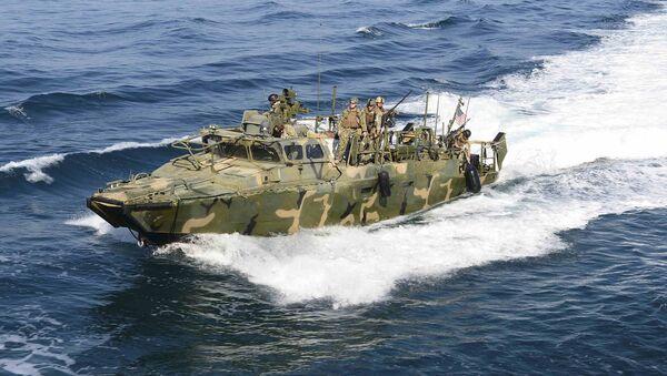 Embarcación estadounidense capturada por Irán (Archivo) - Sputnik Mundo