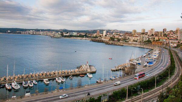 Un balneareo en la región de Valparaíso, en Chile (archivo) - Sputnik Mundo