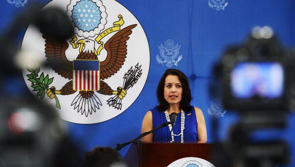 Kelly Keiderling, embajadora de EEUU en Uruguay - Sputnik Mundo