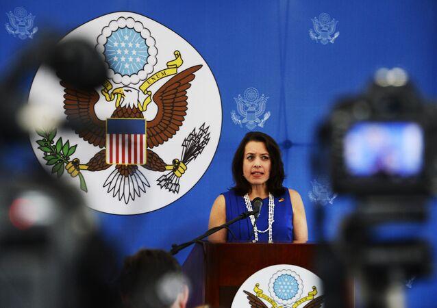 Kelly Keiderling, embajadora de EEUU en Uruguay
