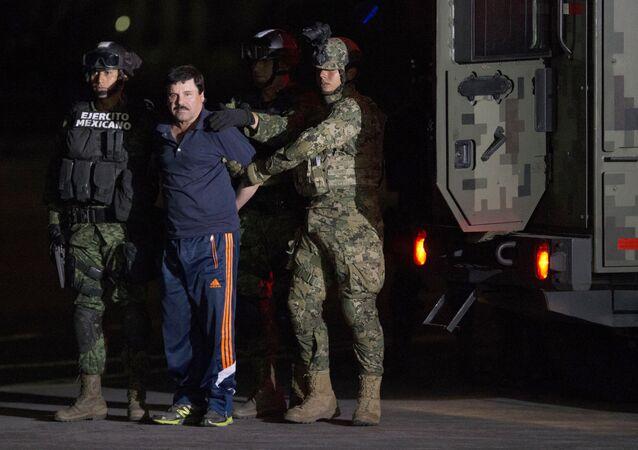 Joaquín el 'Chapo' Guzmán, jefe narcotraficante de México (archivo)