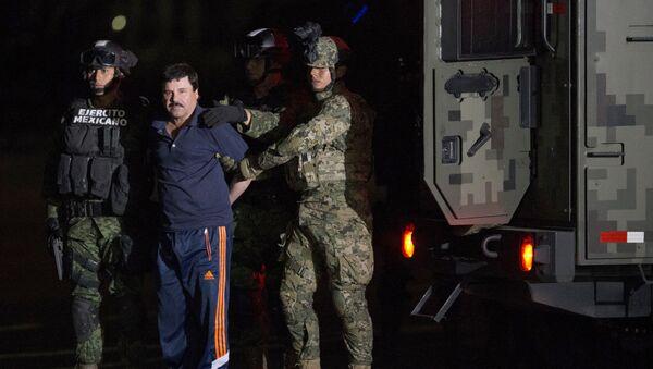 El narcotraficante, el 'Chapo' Guzmán - Sputnik Mundo