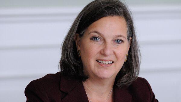 Victoria Nuland, subsecretaria de Estado de EEUU (archivo) - Sputnik Mundo